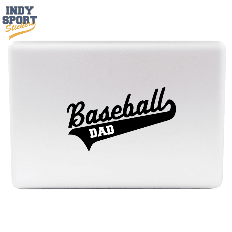 Baseball Script Text And Tail With Dad Text Indy Sport