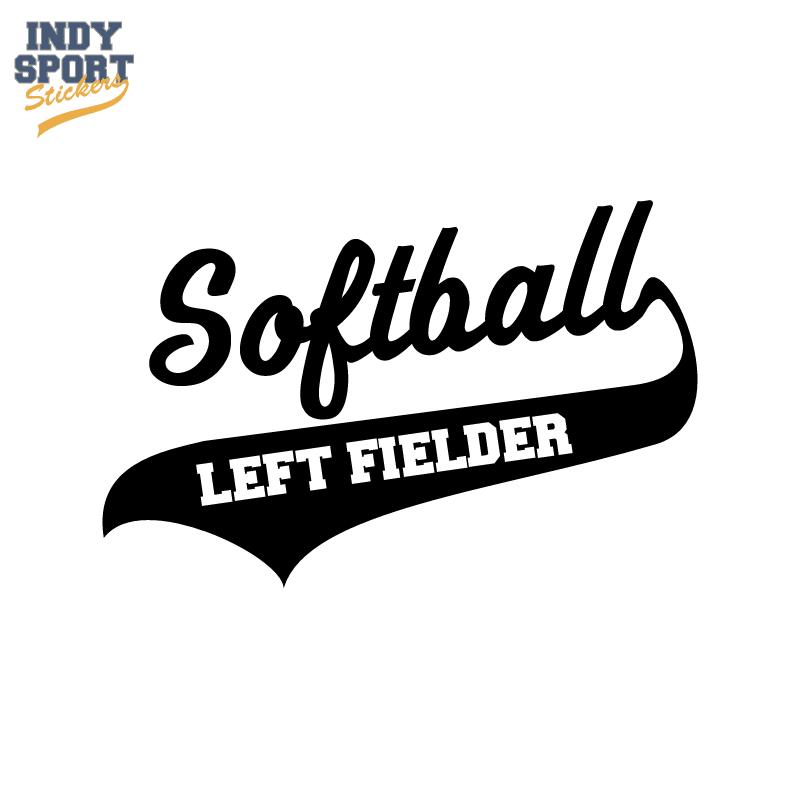 Softball script text