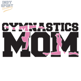 Multiple Color Gymnastic Vinyl Decal Stickers