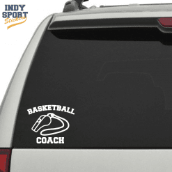 Silhouette Basket Decal for cars, windows, laptops and more