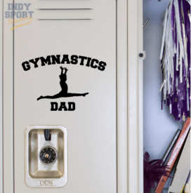 Gymnastics Dad with Gymnast