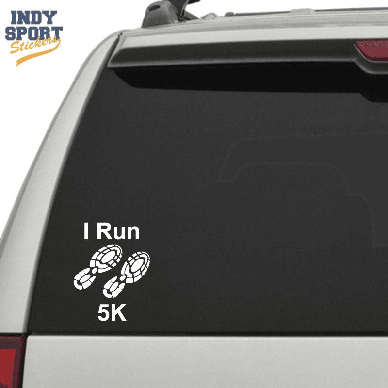Running Shoe Window Stickers