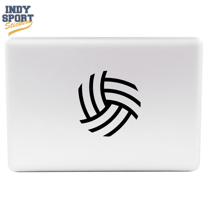 Silhouette Volleyball Car Stickers And Decals