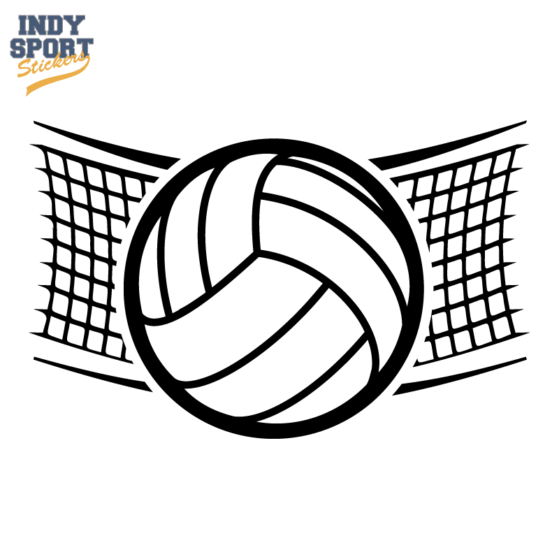Decal SC Volleyball 0002 01