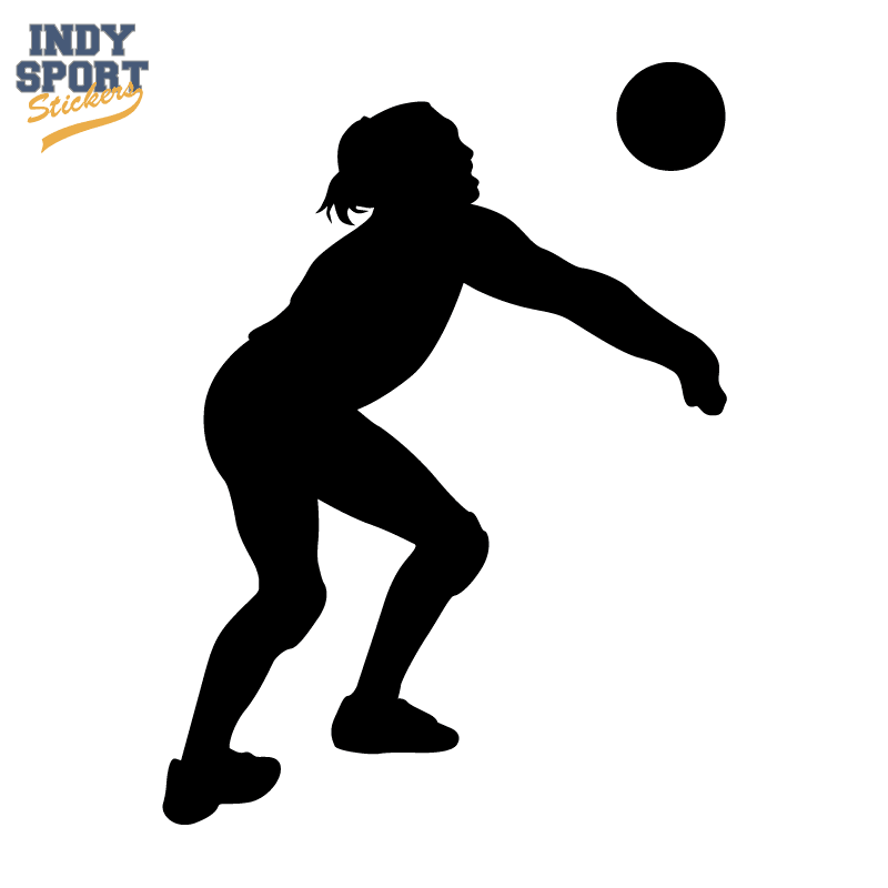 silhouette volleyball player bump car stickers and decals basketball player clipart black and white basketball players clip art free